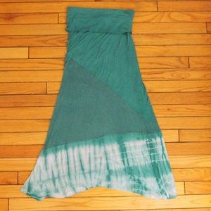 Boutique Flowy Turquoise Skirt
